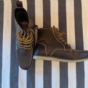 Crevo Memory Foam Brown Boots